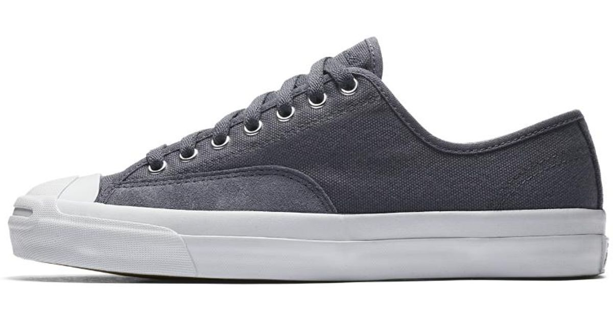 bff95bdc65d8 Lyst - Converse Jack Purcell Pro Low Top Men s Skateboarding Shoe in Gray  for Men