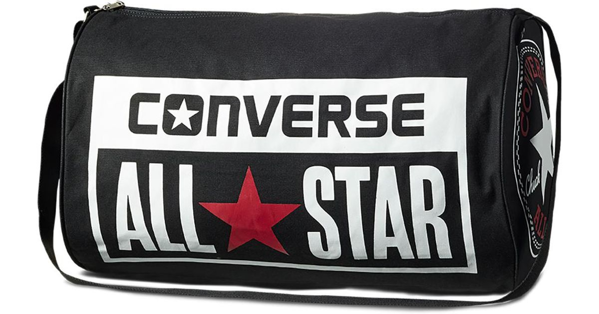 2723c5bbfc4 Converse Chuck Taylor All Star Legacy Duffel Bag in Black for Men - Lyst