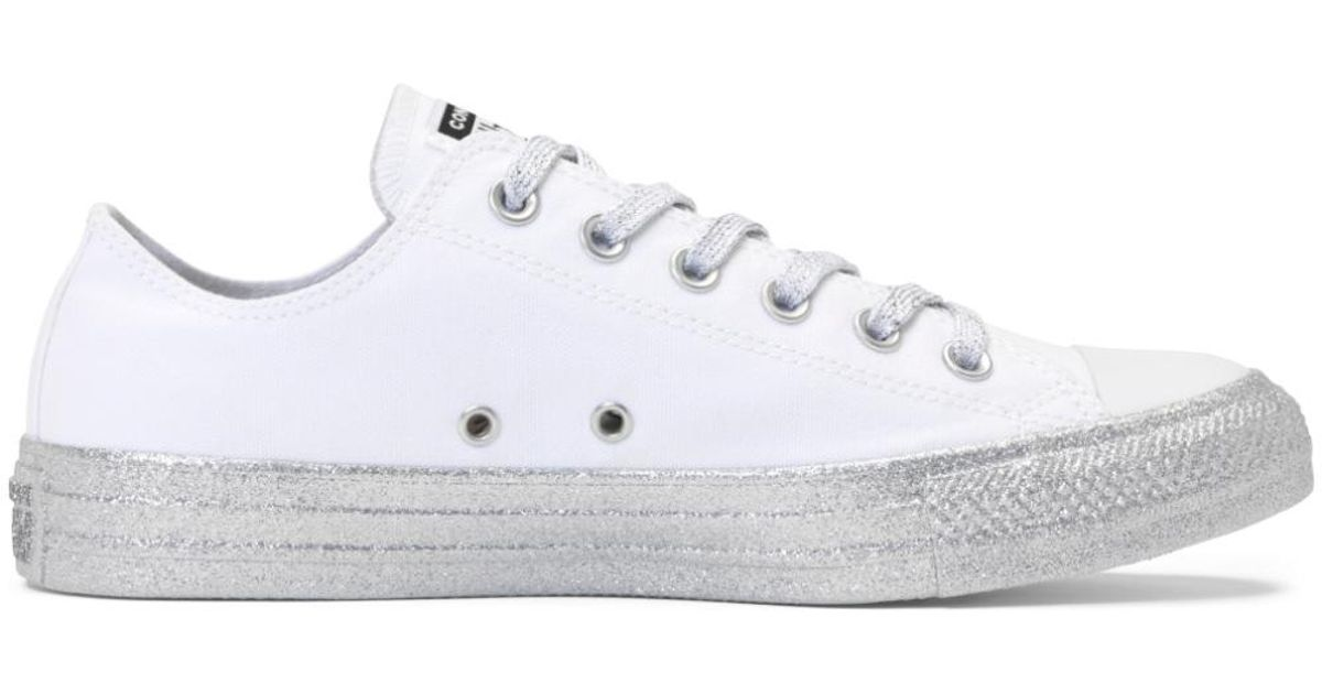 cfb2a5871c38f9 Converse X Miley Cyrus Chuck Taylor All Star in White - Lyst