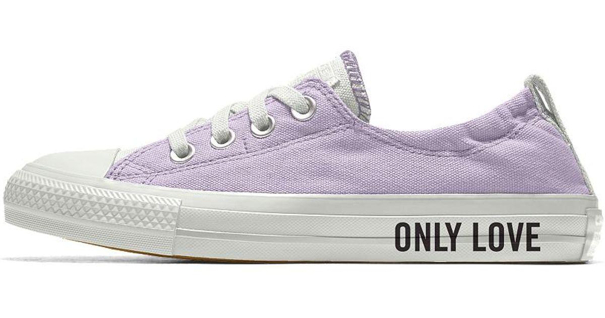 403e24b20cc9 Lyst - Converse Custom Chuck Taylor All Star Shoreline Women s Slip-on Shoe  in White