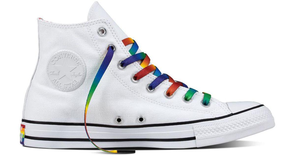 Converse Blue Chuck Taylor All Star Pride Core for men