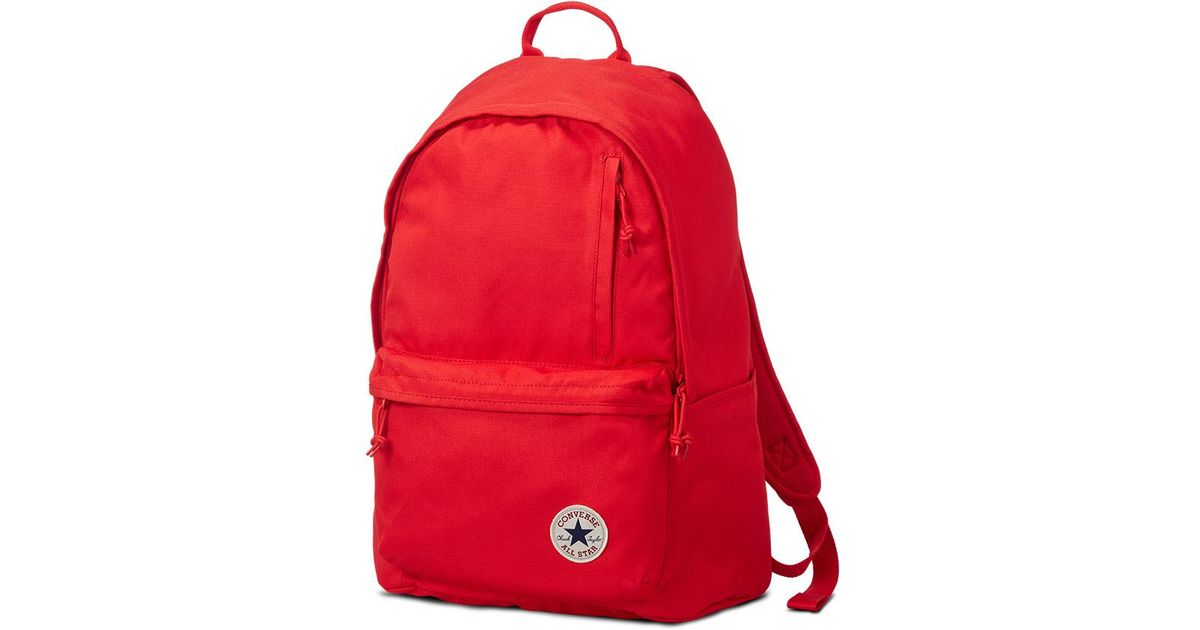 c71dff5fd39 Converse Chuck Taylor All Star Original Backpack in Red - Lyst