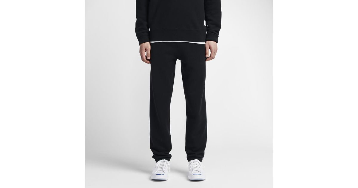 super popular 114c5 2bc00 Converse Essentials Sportswear Jogger Men s Sweatpants in Black for Men -  Lyst