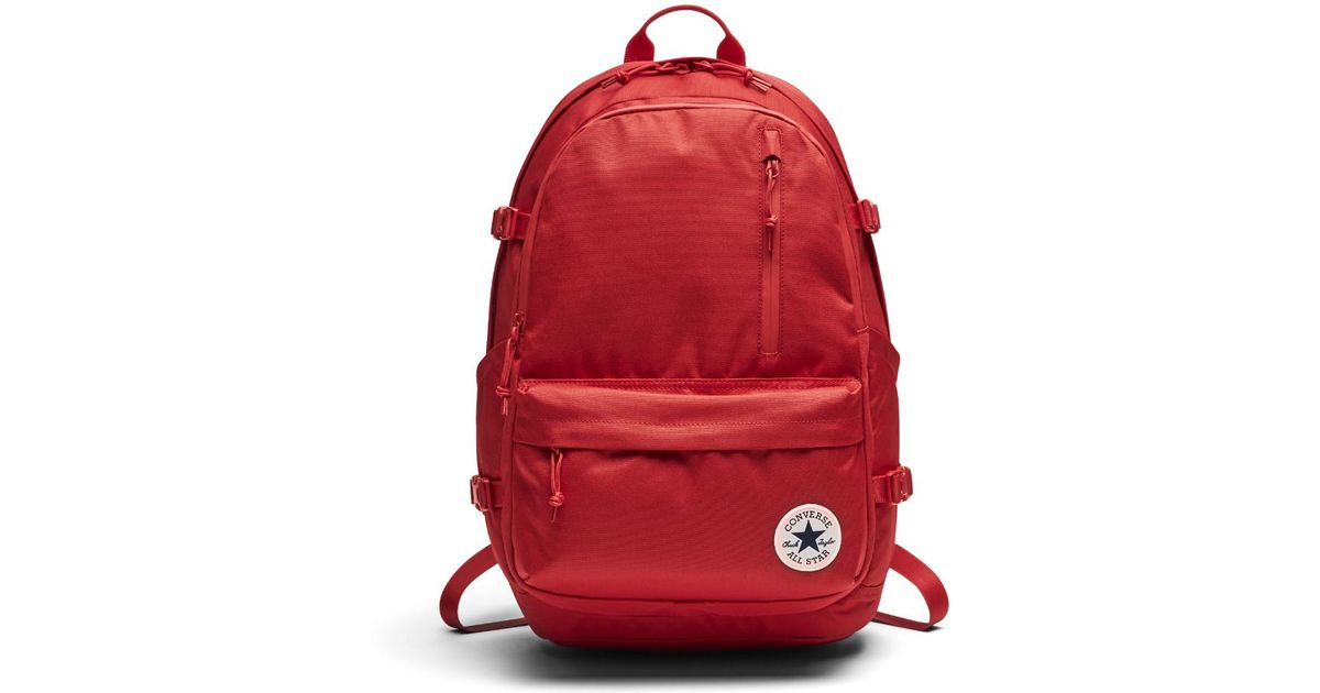 3ccdbde795ae Lyst - Converse Straight Edge Backpack (red) in Red for Men