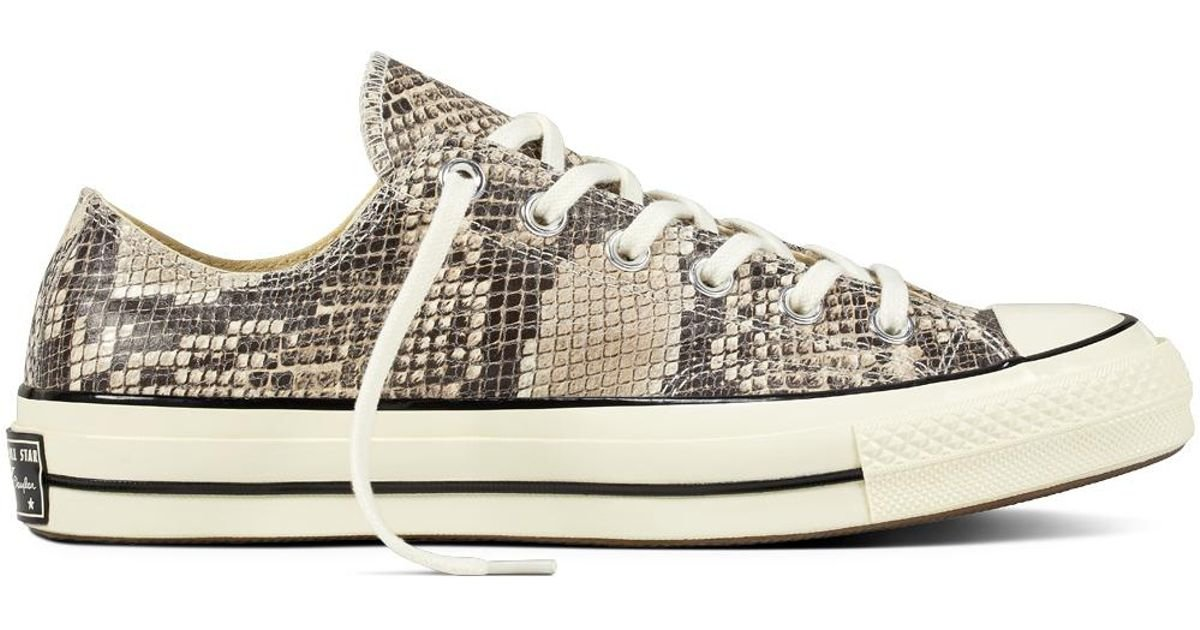 16b5879a7a6f Converse Chuck Taylor All Star 70 Snake Pack in Gray for Men - Lyst