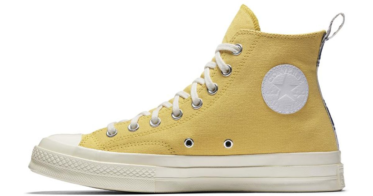 70044e4eaed0d8 Lyst - Converse X Nba Chuck 70 Los Angeles Lakers Legends High Top Shoe in  Yellow