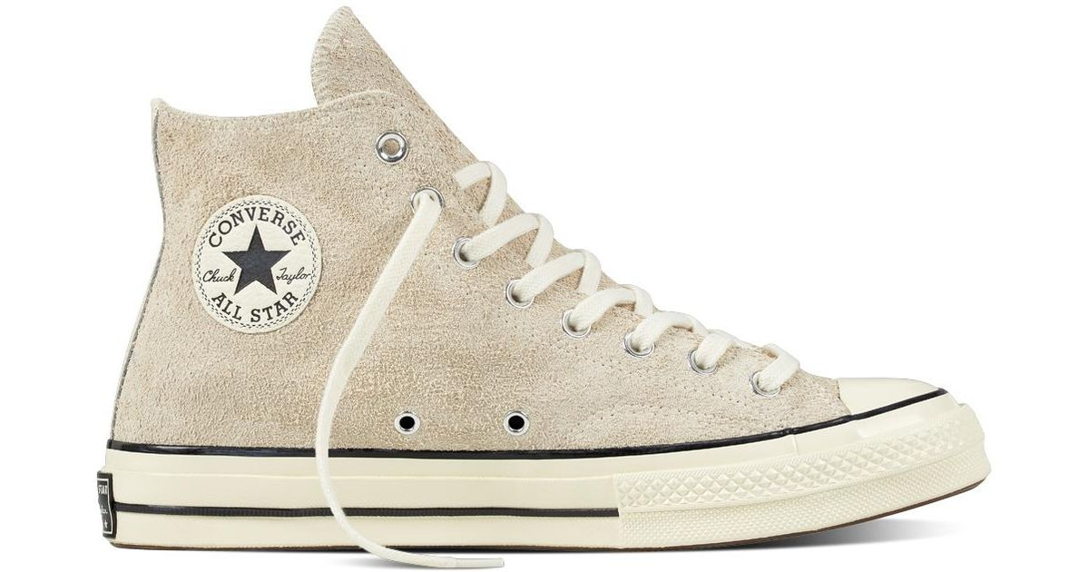 32249d2ff828 Converse Chuck Taylor All Star 70 Vintage Suede in Natural for Men - Lyst