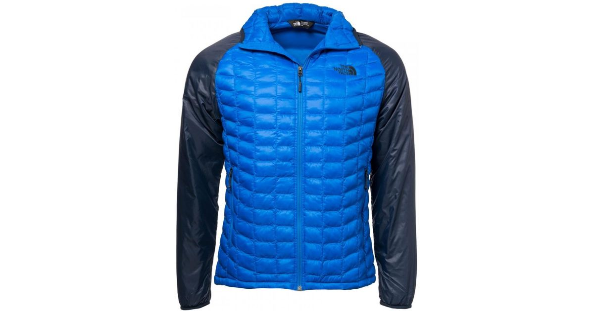 44521c5541 The North Face Thermoball Mens Sport Hoodie in Blue for Men - Lyst