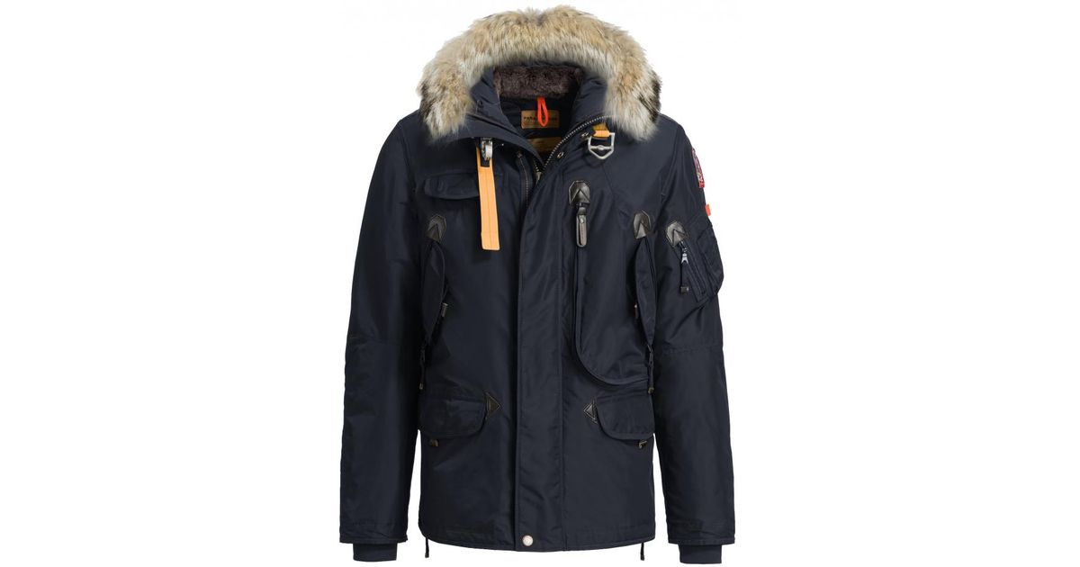 e85714d42ba0 Lyst - Parajumpers Right Hand Mens Short Parka in Blue for Men - Save 15%