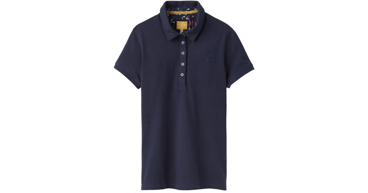 5987cce9 Lyst - Joules Pippa Plain Womens Polo Shirt (z) in Blue
