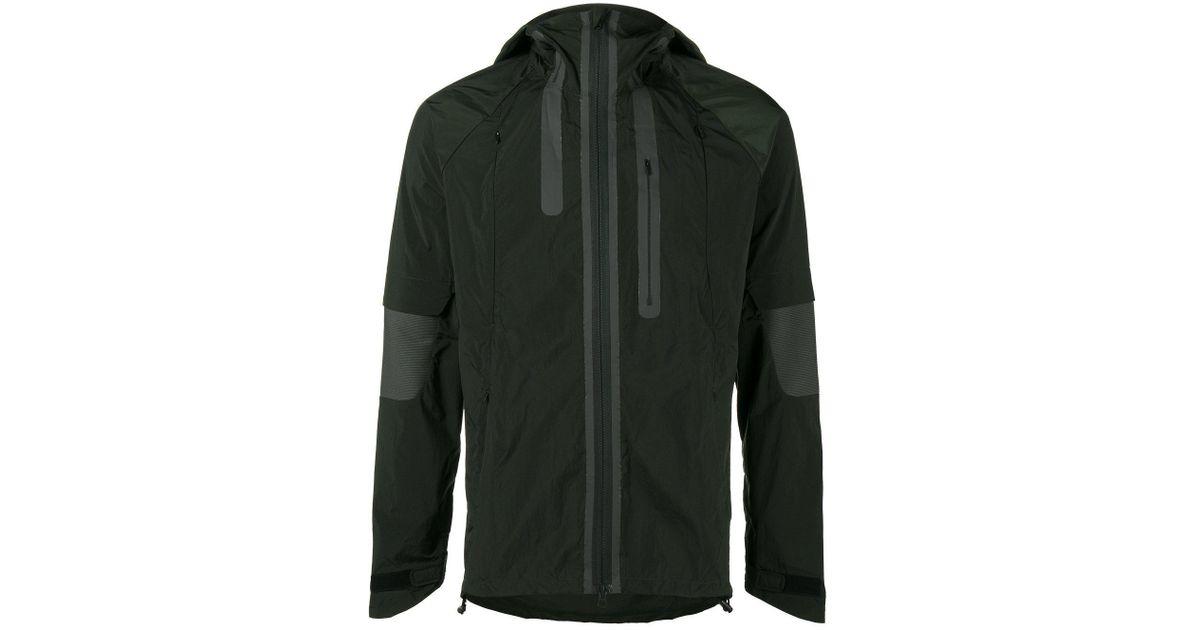 981bff733 Y-3 - Green Nylon Hood Jacket for Men - Lyst