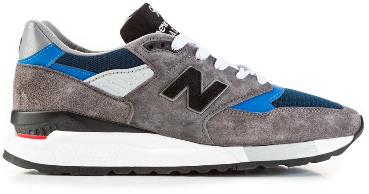 premium selection 7da9e 3af5c New Balance - Gray M998 Nf Grey/blue