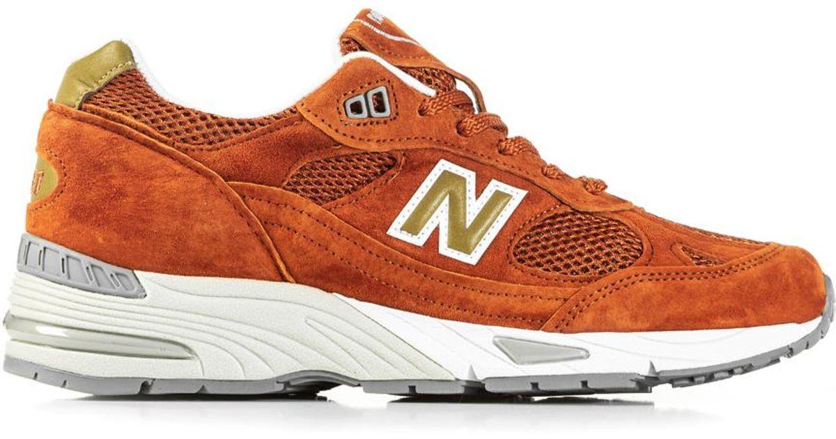 New Balance M991 Se Burnt Orange