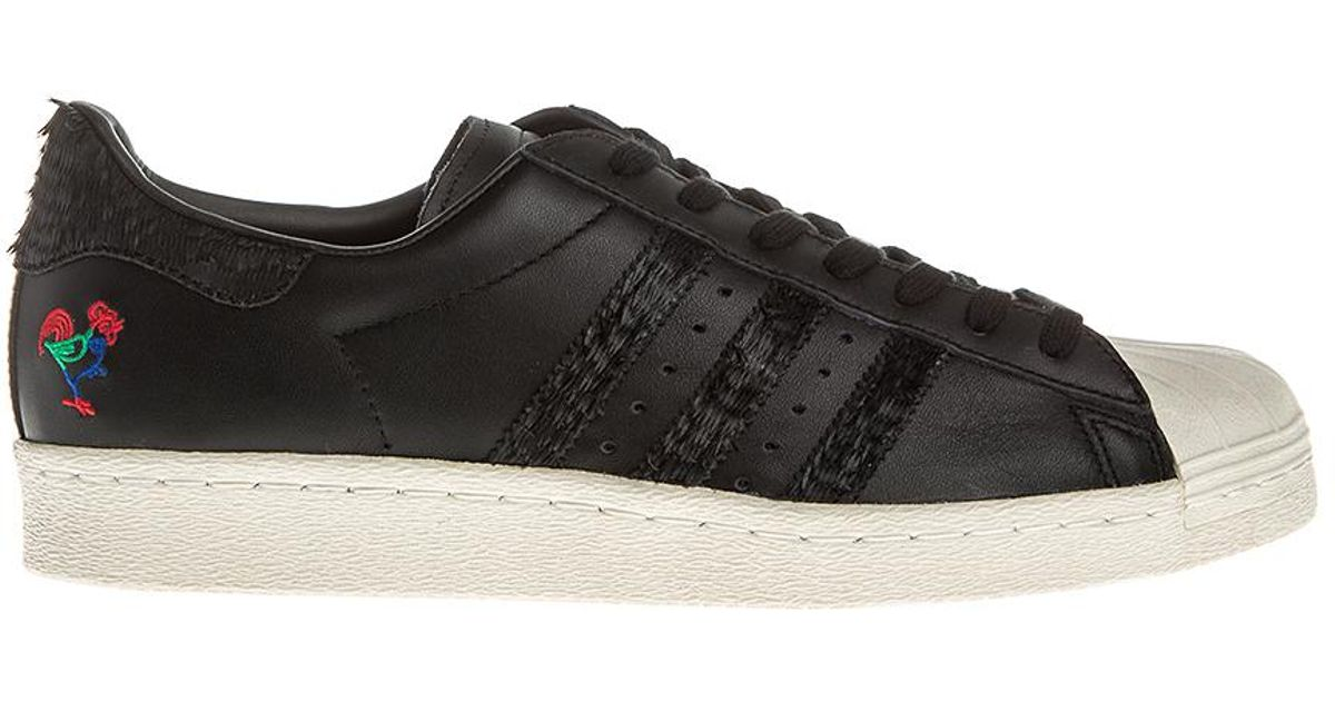 4b3114222245 Lyst - adidas Originals Superstar 80s Cny Black in Black for Men