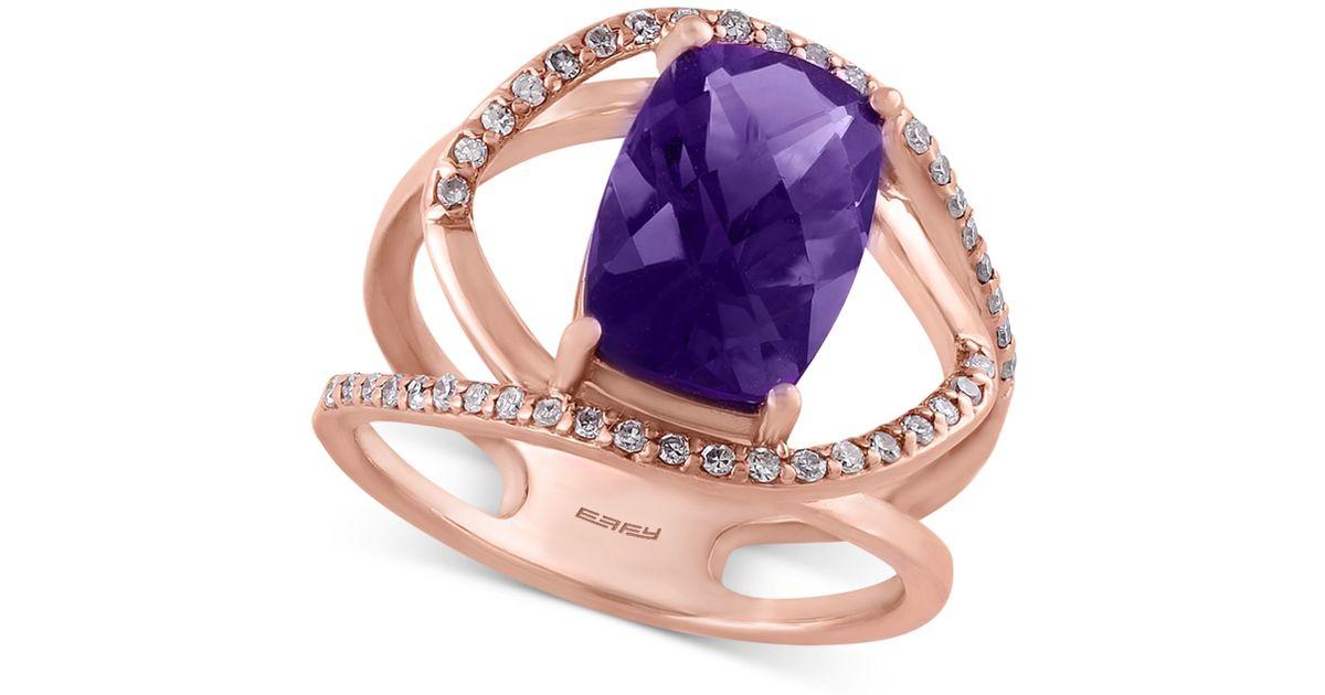 Viola Effy Amethyst Ring