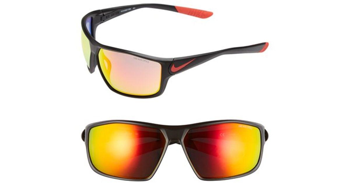 afe6bbadb4 Lyst - Nike  ignition  68mm Sunglasses for Men