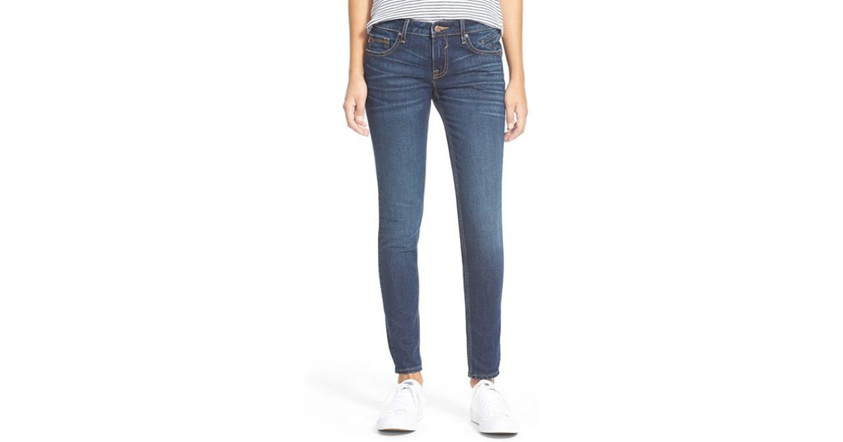 b2a5bb892f0 Vigoss 'new York' Skinny Jeans in Blue - Lyst