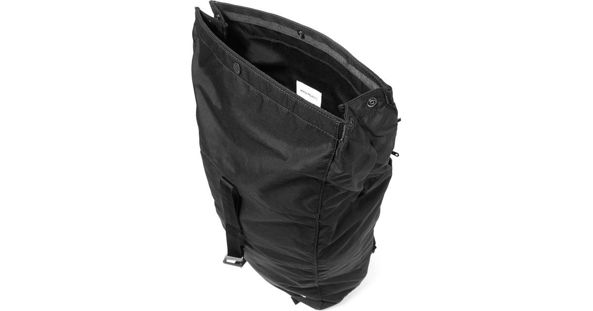 Lyst - Norse Projects Black Isak Backpack in Black 1c5e0409a5