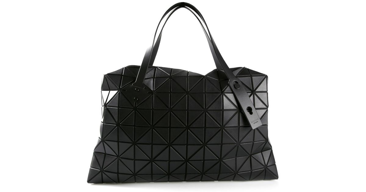 Lyst - Bao Bao Issey Miyake Prism Bag in Black 7626bbaa975dd