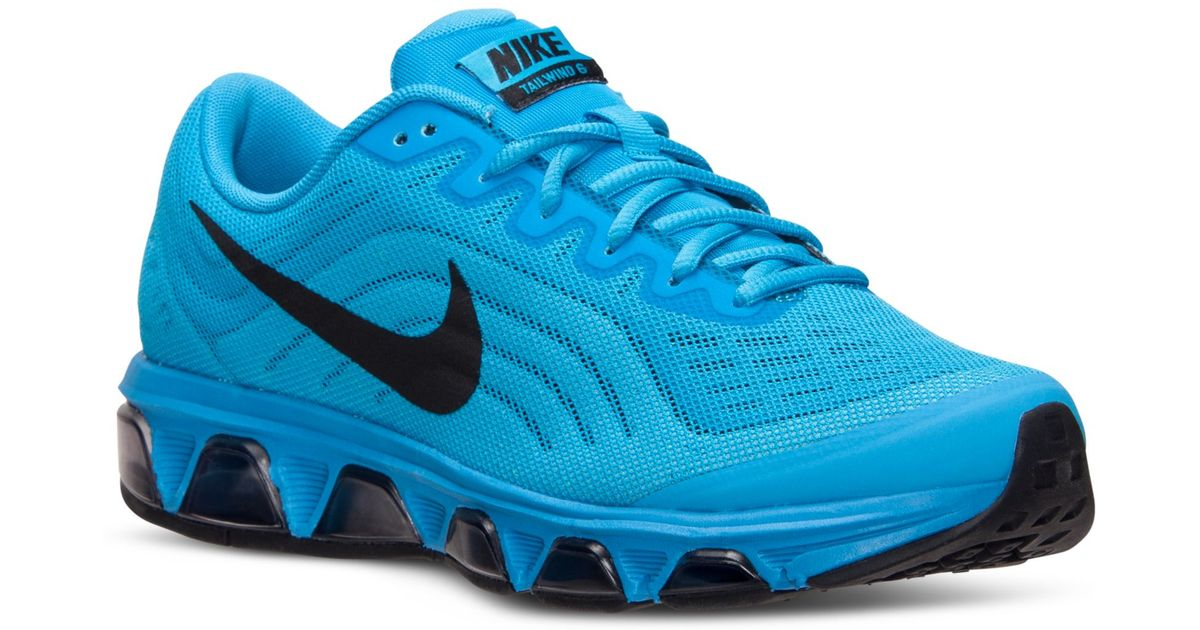 timeless design c96b3 36cb7 Nike Mens Air Max Tailwind 6 Running Sneakers From Finish Line in Blue for  Men - Lyst