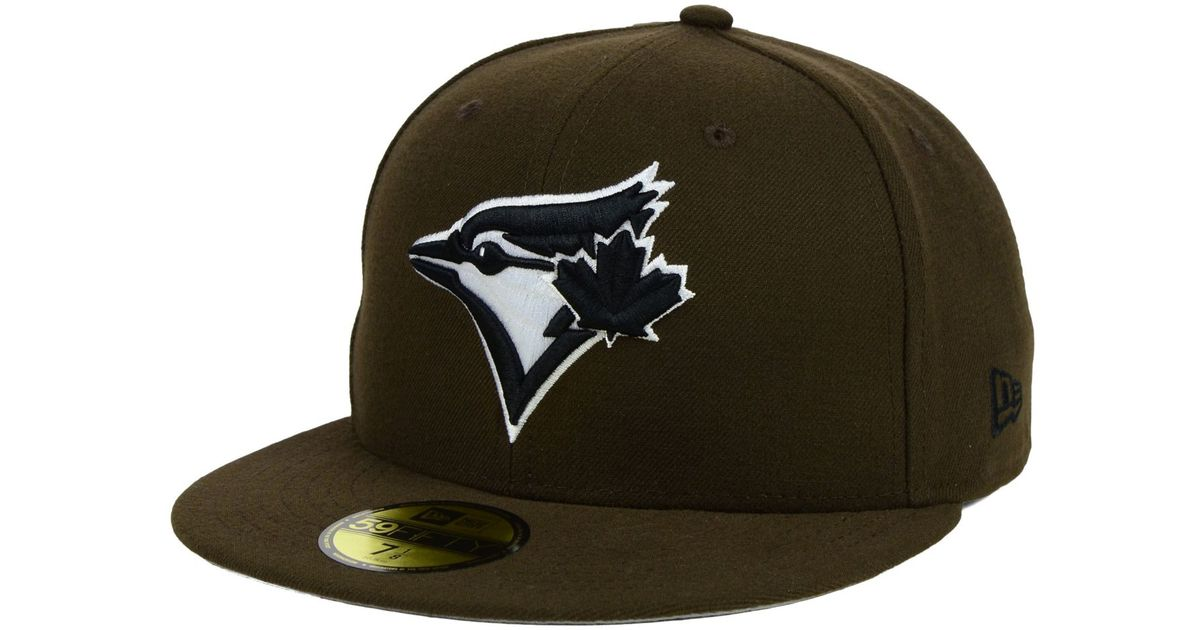 54da2bfc53e Lyst - KTZ Toronto Blue Jays C-dub 59fifty Cap in Brown for Men