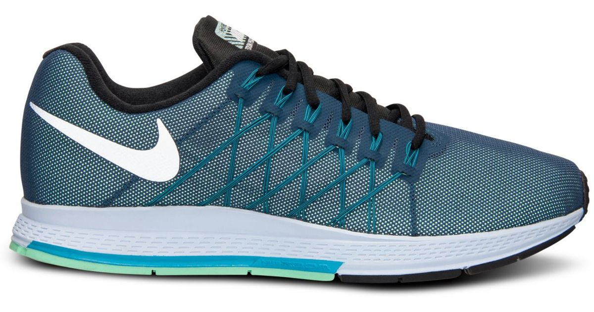 bd882cab073de ... spain lyst nike mens zoom pegasus 32 flash running sneakers from finish  line in blue for