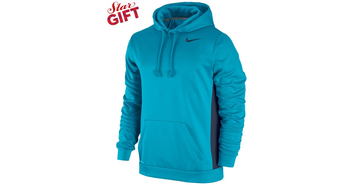 0e3cbe544 Nike Men's Ko 3.0 Therma-fit Pullover Hoodie in Blue for Men - Lyst