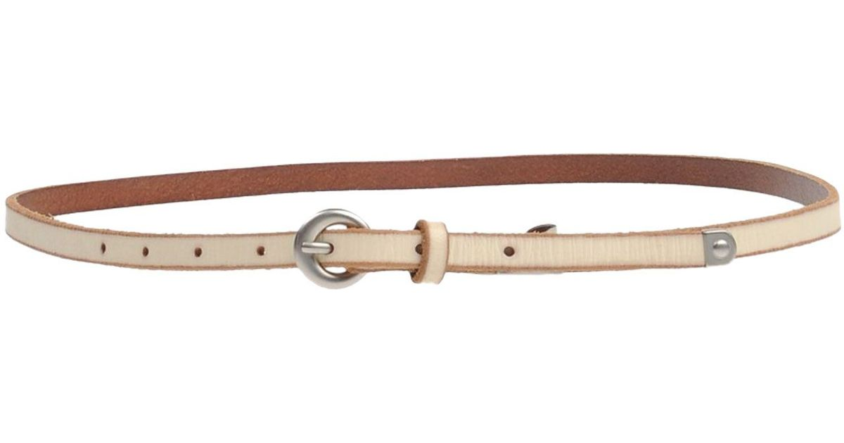 fossil belt in brown lyst