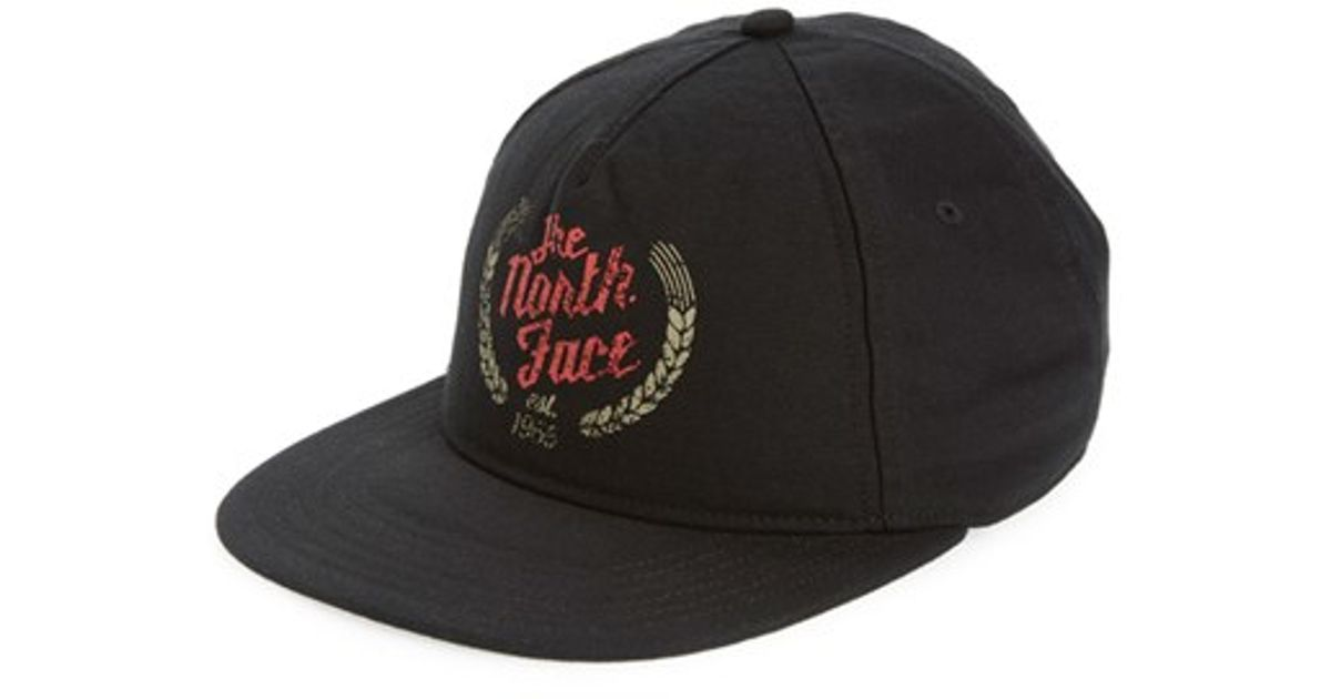 Lyst - The North Face  sunwashed  Baseball Cap in Black for Men 1eb9e73b1e29