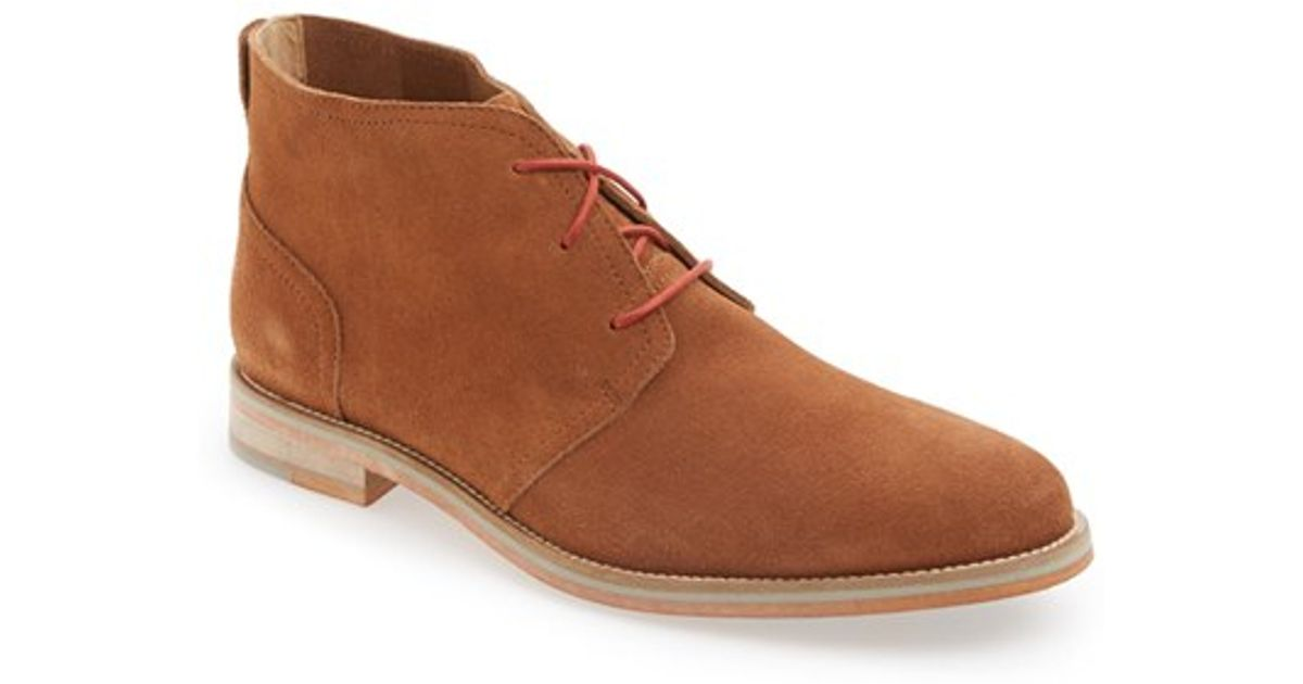 j shoes archie 2 suede chukka boot in brown for lyst