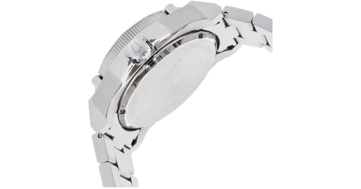 44f720d33d7 Lyst - Bulova Men s Precisionist Stainless Steel Black Carbon Fiber Dial in  Metallic for Men