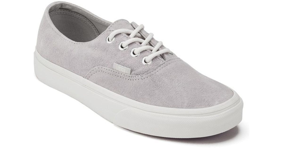 d261ce251b8135 Vans Women s Authentic Decon Scotchgard Trainers in Gray - Lyst