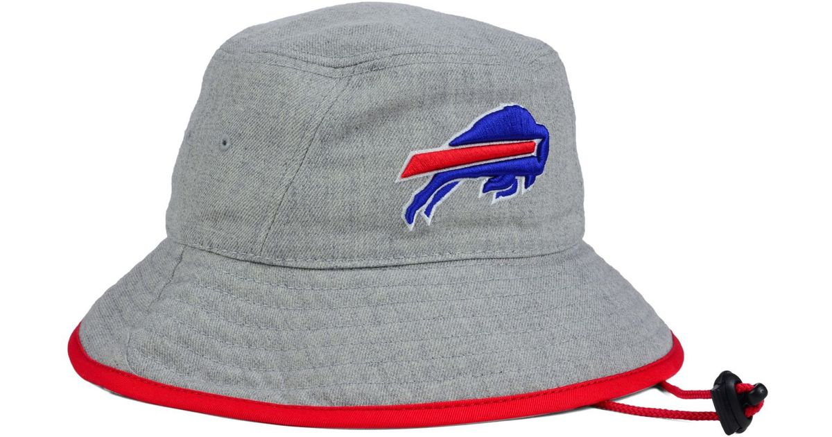 549bd1a28c098 KTZ Buffalo Bills Nfl Heather Gray Bucket Hat in Gray for Men - Lyst