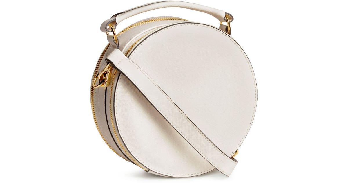 Lyst - H M Round Shoulder Bag in White