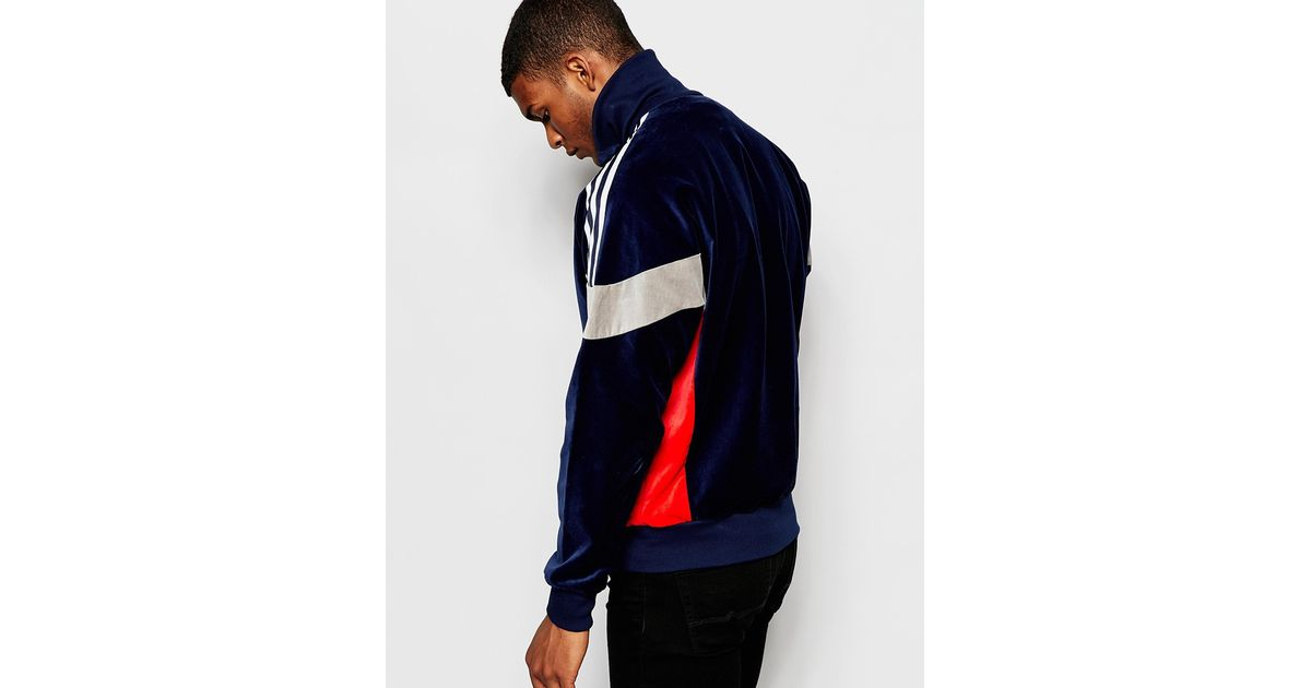 Adidas Originals Blue Archive Track Lyst Jacket Ab7760 para Track hombres hombres Lyst 041978d - hotlink.pw
