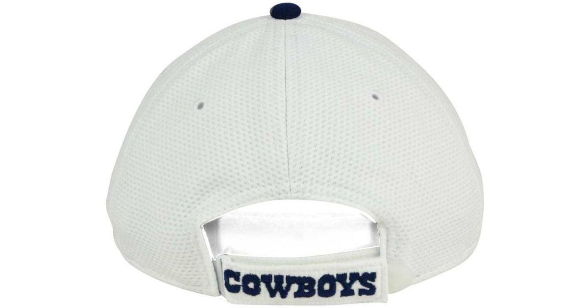 e0e7c4b8ddec9e KTZ Women's Dallas Cowboys Training Camp 9twenty Cap in White for Men - Lyst