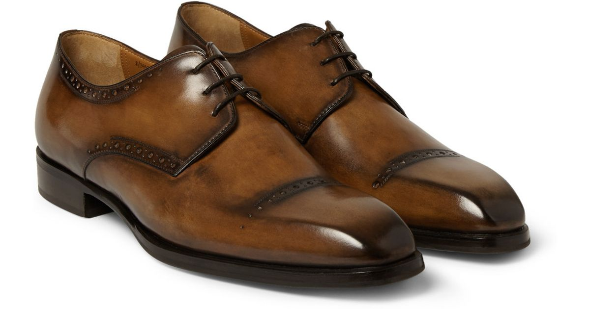Leather Derby Shoes Berluti FnirLG