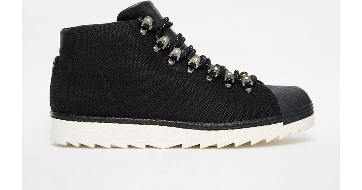 Lyst - adidas Originals Promodel Goretex Mid Trainers S81625 in Black for  Men d974028abd62