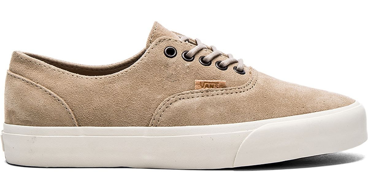 acc883ec2e Lyst - Vans California Era Decon Suede Sneakers in Natural for Men