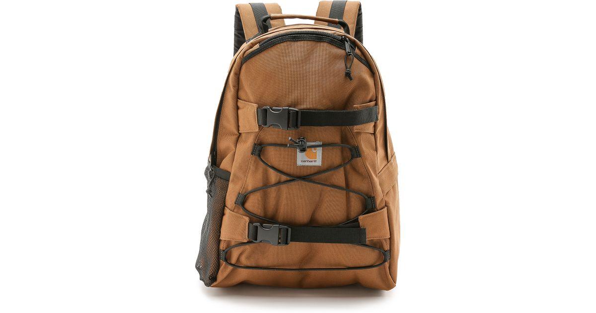 0752c6a629 Carhartt WIP Kickflip Backpack in Brown for Men - Lyst