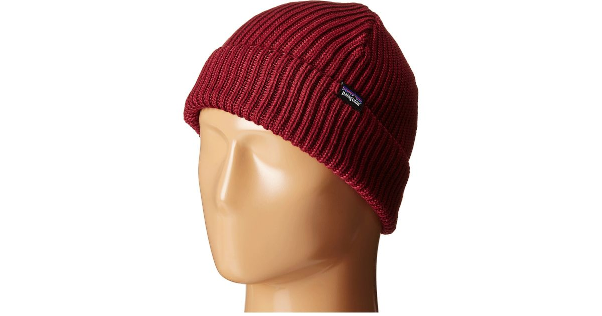 Lyst - Patagonia Fishermans Rolled Beanie in Purple for Men 3a6a28cfaf0