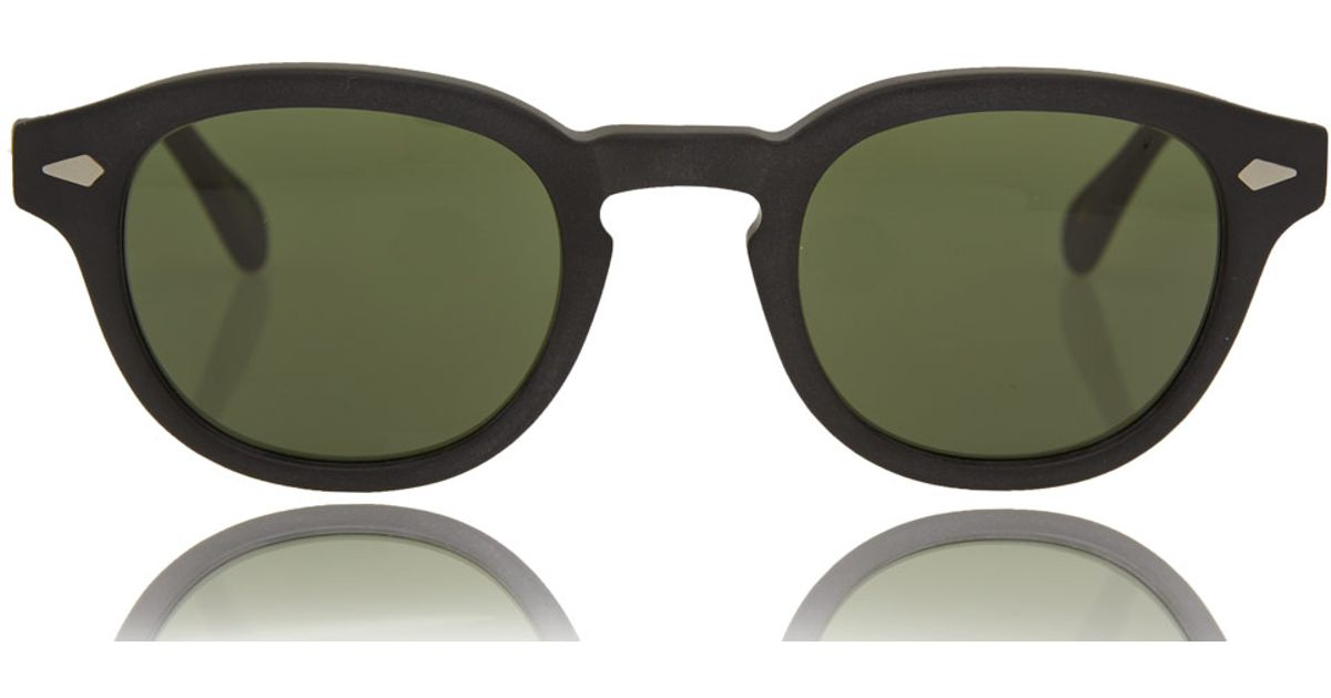 9c6a36c32ae Lyst - Moscot Black Lemtosh Sunglasses in Black for Men