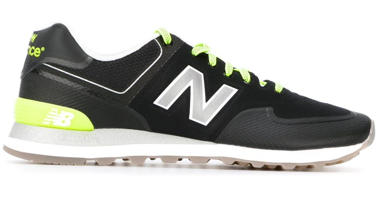 Lyst - New Balance  reebok 574  Sneakers in Black for Men 3e0b67052