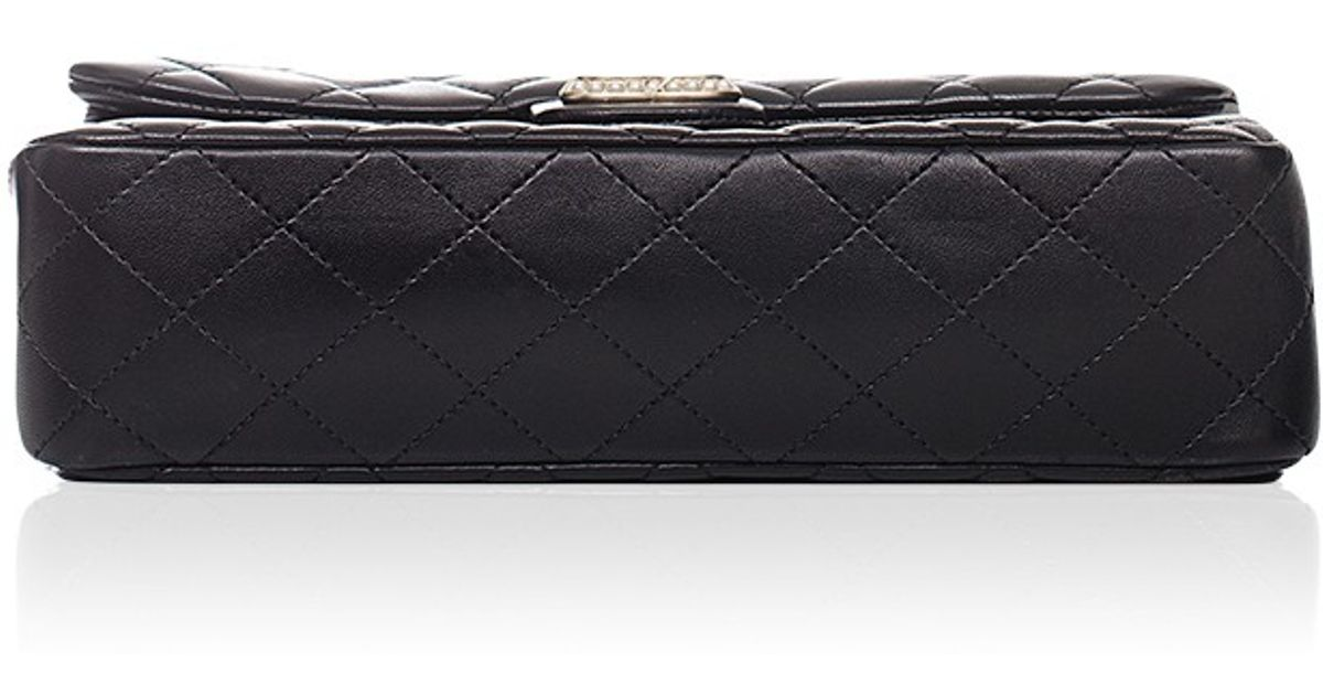 8daf9e1674886d Madison Avenue Couture Chanel Limited Edition Black Westminster Pearl Flap  Bag in Black - Lyst