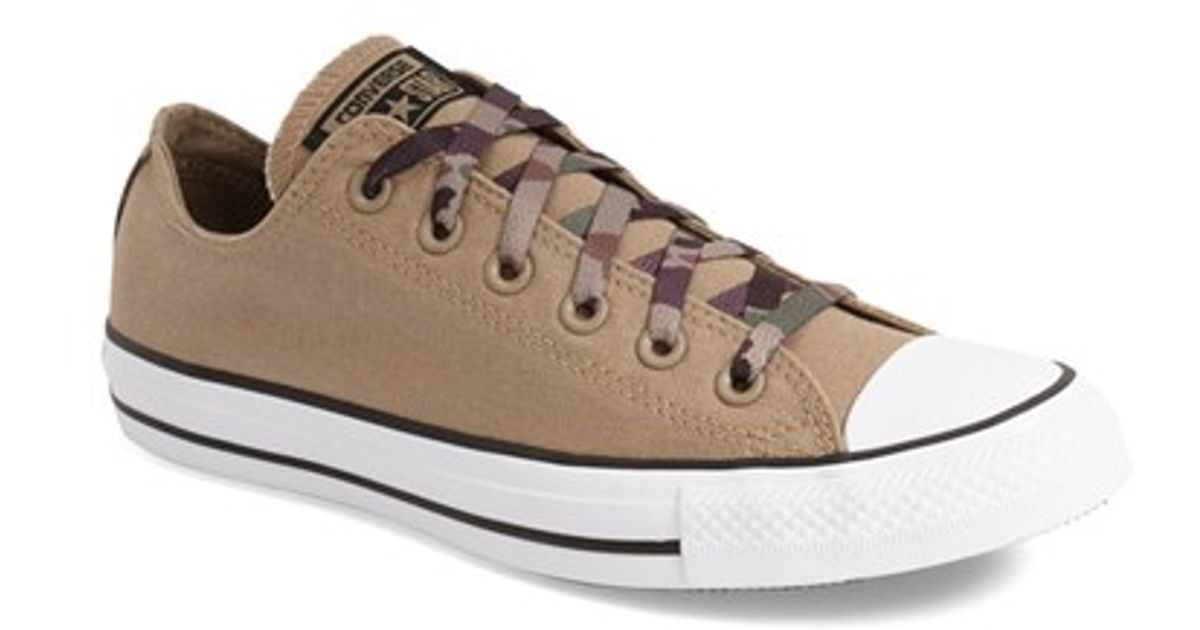 0c0490a8d2d4 Lyst - Converse Chuck Taylor All Star  ox - Camo  Sneaker in Natural for Men