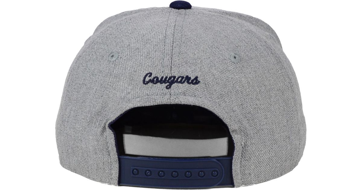 Lyst - PUMA Sports Licensed Division Byu Cougars Stacked Box Snapback Cap  in Blue for Men 4ec48d23131