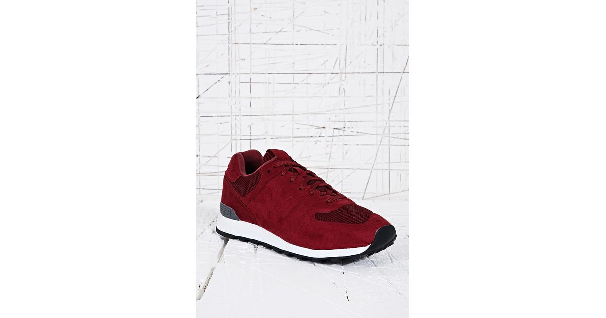 574 New Lyst Sonic Men In Burgundy Trainers For Balance Red awHqxBS
