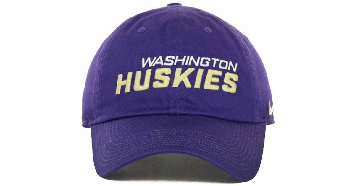 d2dc815b72434 ... australia lyst nike washington huskies heritage 86 campus cap in purple  for men b3ffb bf4d5 ...