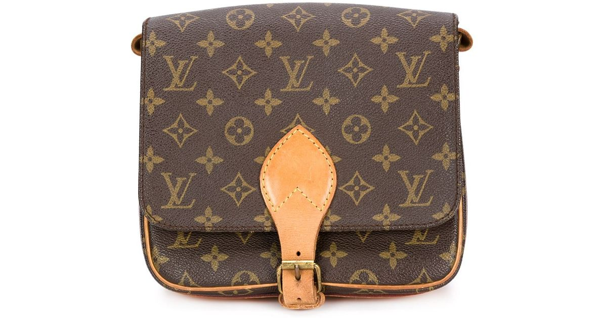 cce25f58b9e Lyst - Louis Vuitton Signature Crossbody Bag in Brown