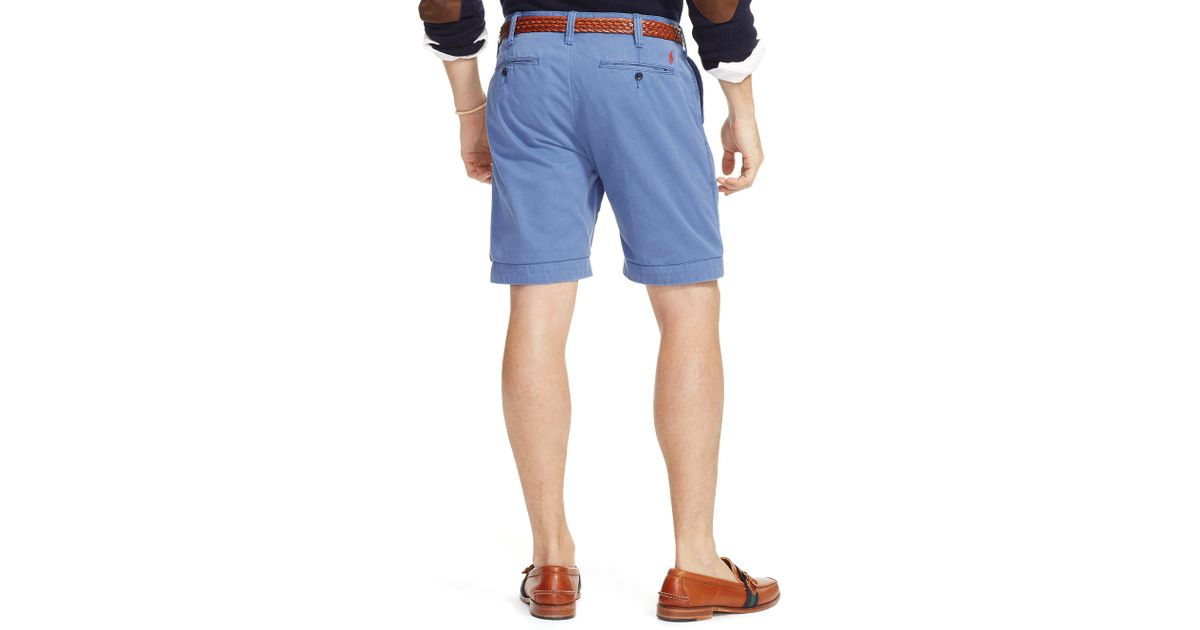 884798d61 Lyst - Polo Ralph Lauren Relaxed-fit Chino Short in Pink for Men